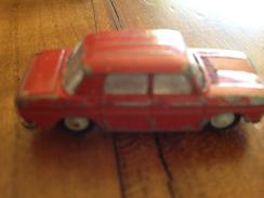"""NOREV 1/86   """" Renault R8 """" Rouge - Toy Memorabilia"""