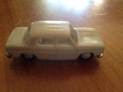 """NOREV 1/86   """" Renault R8 """" Gris Clair Pastel - Toy Memorabilia"""