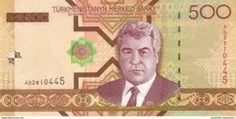 TURKMENISTAN 500 MANAT 2005 P-19a UNC [TM212a] - Turkmenistan