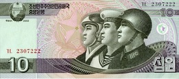 Corea Del Norte 2002, 10 Won (**) UNC - CF3009 - Corea Del Norte