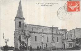 PLASSAC Près BLAYE - 33 - Eglise Saint Pierre - VAN - - France