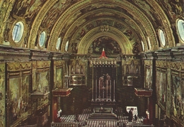 Malta - Interior - St. John`s Cathedral   # 06244 - Malta