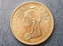 1 Franc 1992 République,métal Nickel, Tranche Striée - Commémoratives