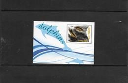O) 2012 GUYANA, DOLPHIN COMMON -CETACEA - DELPHINIDAE, SOUVENIR MNH - Guyana (1966-...)
