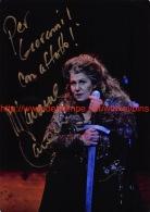 Marianne Cornetti Opera Signed Photo 12,5x17,5cm - Autographes