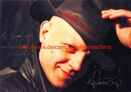 Andrea Papi Opera Signed Photo 17,5x12,5cm - Autographes
