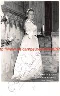 Amelia Benvenuti Opera Signed Photo 11,5x18cm - Autographes