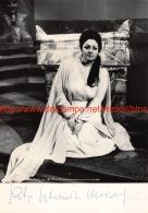 Rita Orlandi Malaspina Opera Signed Photo 12,5x18cm - Autographes