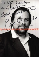 Piero Giuliacci Opera Signed Photo 11,5x16,5cm - Autographes