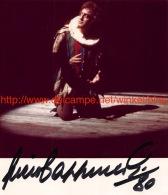 Piero Cappuccilli Opera Signed Photo 12,5x14,5cm - Autographes