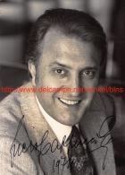 Piero Cappuccilli Opera Signed Photo 13x17,5cm - Autographes