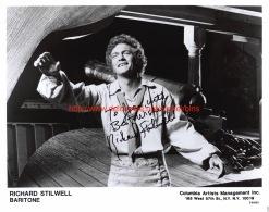 Richard Stilwell Opera Signed Photo 20x25,5cm - Autographes