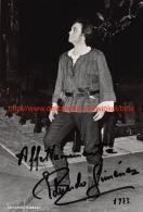 Eduardo Gimenez Opera Signed Photo 14x20,5cm - Autographes