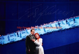Edita Gruberova Opera Signed Photo 22x15cm - Autographes