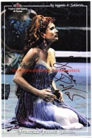 Francesca Patane Opera Signed Photo 17x25,5cm - Autographes