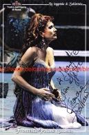 Francesca Patane Opera Signed Photo 11x17cm - Autographes