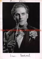 Frans Toutenel Opera Signed Photo 13x18cm - Autographes