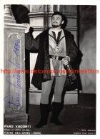 Piero Visconti Opera Signed Photo 13x18cm - Autographes