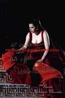 Daniela Barcellona Opera Signed Photo 15x22,5cm - Autographes