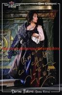 Darina Takova Opera Signed Photo 13x20cm - Autographes