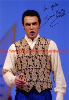 Simon Orfila Opera Signed Photo 12,5x18cm - Autographes