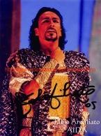 Fabio Armiliato Opera Signed Photo 14x18,5cm - Autographes