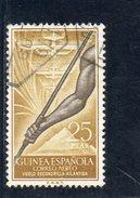 GUINEE ESPAGNOLE 1957 O - Guinea Spagnola