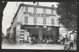 VIDAUBAN Hôtel De La Renaissance Restaurant Garage(Roux) Var (83) - Vidauban
