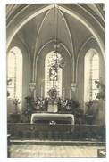 77 - SAINT-FIACRE PAR MEAUX - Intérieur De L'Eglise - CARTE-PHOTO - Francia