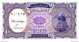 EGYPT 10 PIASTRES L. 1940 (2002) P-189b UNC PURPLE [EG189b] - Aegypten