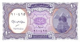 EGYPTE 10 PIASTRES L. 1940 (2002) P-189b NEUF VIOLET [EG189b] - Egypte