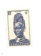 Timbre Cameroun Valeur 4c République Française Non Oblitéré - Cameroun (1960-...)