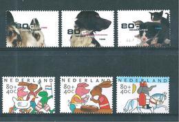 Pays Bas Timbres De 1998  N°1648/50  +  1653/55   Neufs ** - 1980-... (Beatrix)