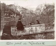 Photo  Au Pont De Loutraz - Non Classificati