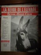 1955 LRDLE :Le Mulet; Au Maroc; Concours Spéciaux De Races; Le Mouton; A Brive ; La Basse-cour; Etc - Animals