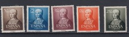 Lote3j5 Edifil Nº 1092/96 Con Charnela - 1951-60 Nuevos & Fijasellos