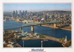 Canada  Quebec  Montreal  Pont Jacques  Cartier  Bridge  17 X 12 - Montreal