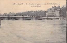 PARIS - INONDATIONS DE 1910 - Crue De La Seine : Le Pont Neuf  - CPA - Seine - De Overstroming Van 1910