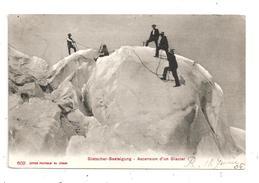 Ascension  D'un Glacier-Gletscher-Besteigung -(B.9259) - Escalade