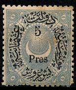 Stamp Turkey 1876 Lot#5 - Ongebruikt
