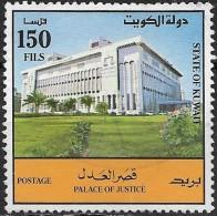 KUWAIT 1992 Palace Of Justice - 150f. - Multicoloured FU - Kuwait