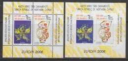Europa Cept 2006 Northern Cyprus M/s Perforated + Imperforated  ** Mnh (28908) - 2006