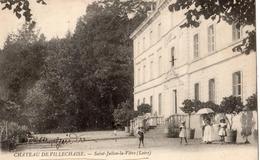 SAINT-JULIEN-LA-VETRE CHATEAU DE VILLECHAISE - Otros Municipios