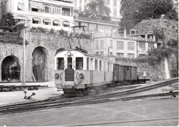 ABFe 4/4 Manœuvrant à Montreux Août 1964  Train M.O.B. BVA - Stations - Met Treinen