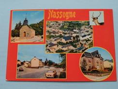Chapelle St. Monon - Vue Aérienne - Place Communale - Jolie Maison () Anno 19?? ( Zie / Voir : Foto Details ) ! - Nassogne