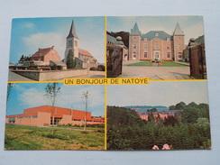 Un Bonjour De NATOYE () Anno 19?? ( Zie / Voir : Foto Details ) ! - Hamois