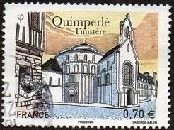 Oblitération Cachet à Date Sur Timbre De France N° 5071 - Quimperlé (Finistère) - France