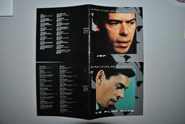 Livrets CD Jacques Brel - Andere - Franstalig