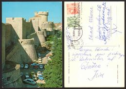 Croatia DUBROVNIK Car Citroen DS Stamp  #22834 - Kroatië