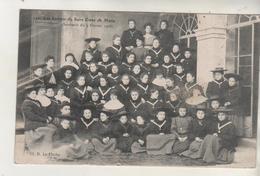LA FLECHE - Les Enfants Du Sacré Coeur De Marie - Février 1908 - La Fleche